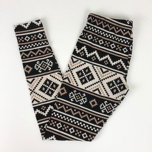 No Boundaries tribal leggings